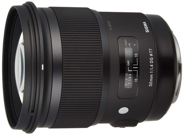 Sigma 50mm f/1.4 DG HSM ART - CANON