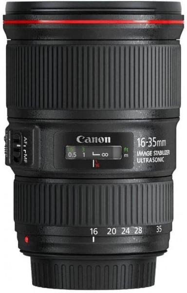 Canon EF 16-35mm f/4L IS USM mieten