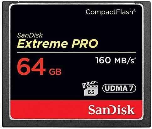 Sandisk CF 64 GB Speicherkarte