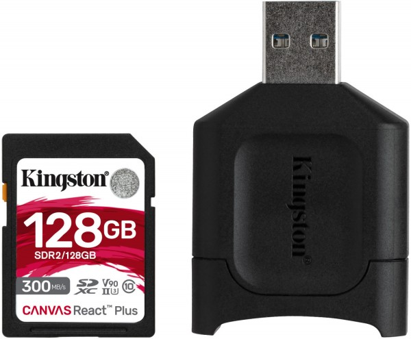 Kingston 128 GB SDXC React Plus V90